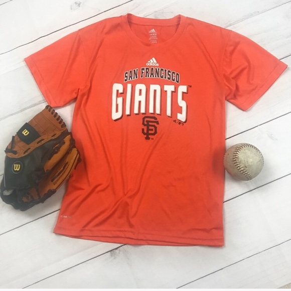 arrives fea10 ae388 Adidas. San Francisco Giants Baseball Tee Shirt